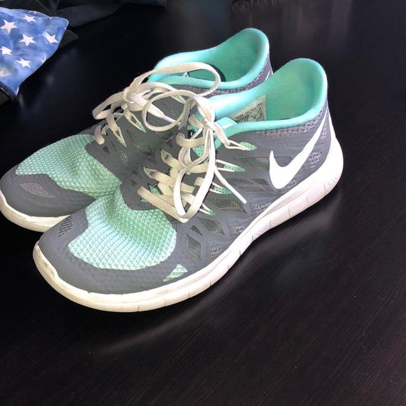 new product bf8e5 15869 Nike Shoes - CUSTOM NIKE FREE 5.0 Sneakers